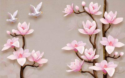 Embossed-flower