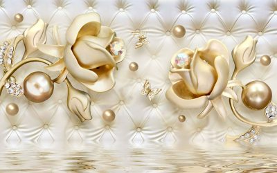 Golden-jewellery-wallpaper