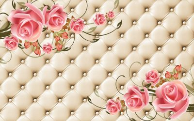 3D Flowers Wallpaper for walls