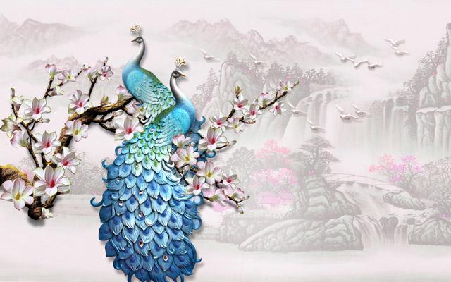 peacock-wallpaper