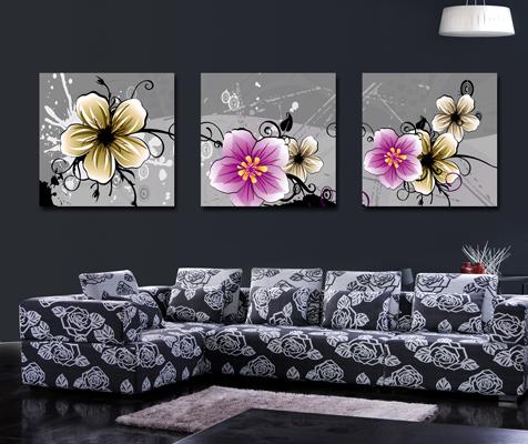 three-panel -canvas