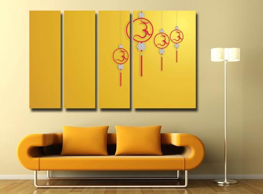 four panel canvas