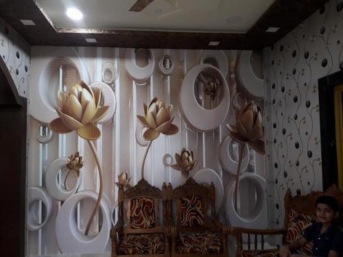 FLOWER MURALS  Chhattisgarh